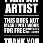 Artists Should Not Work For Free